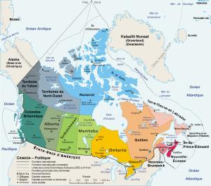 Carte du Canada (cliquez pour agrandir)