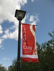 Bannière Canada Day