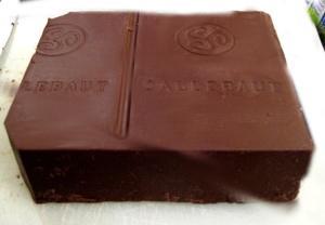 Le bloc de chocolat