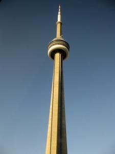 CN Tower (prise depuis l'hôtel)