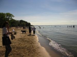 Plein de monde à la plage !!!
