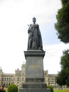 Statue de la reine Victoria