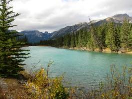 Bow River a Banff