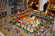 16-Rockefleller Plaza en Lego