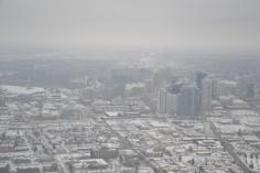 Le centre ville d'Edmonton