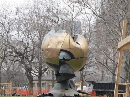 """""""The Sphere"""" (qui était autrefois devant le World Trade Center)"""