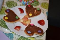 Pancakes d'anniversaire