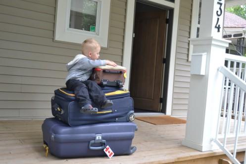 En route pour l'aéroport !
