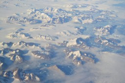 Chaîne de montagne au Groënland