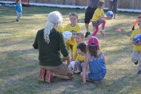 Premiers cours de foot