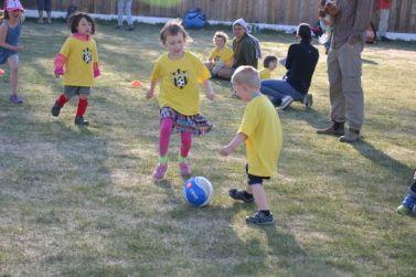 Premier cours de foot