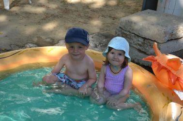 piscine avec Ema