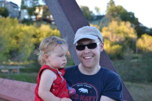 Cloverdale footbridge - Edmonton