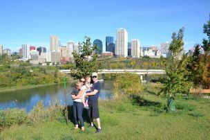 Vue du centre-ville - Edmonton