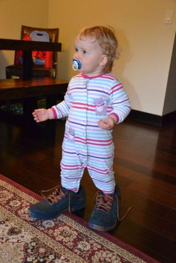 Margaux et son amour pour les chaussures