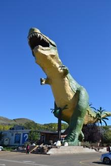 """Le """"plus grand T-Rex du monde"""" - Drumheller"""