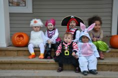 Les petits trick or treaters