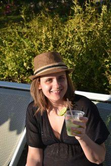 Mon premier (et unique) cocktail.... source probable de mes maux les jours suivants