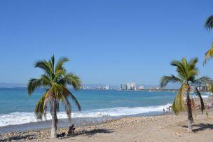 Vue de notre hôtel depuis Puerto Vallarta
