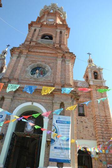 L'église Notre-Dame de Guadalupe de Puerto Vallarta