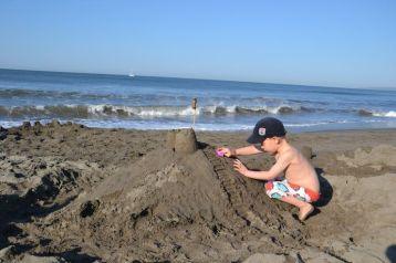 Forteresse en sable