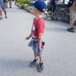 Le petit garçon qui se baladait en slip