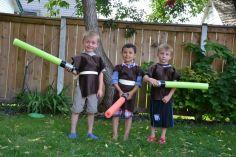 trois petits jedis