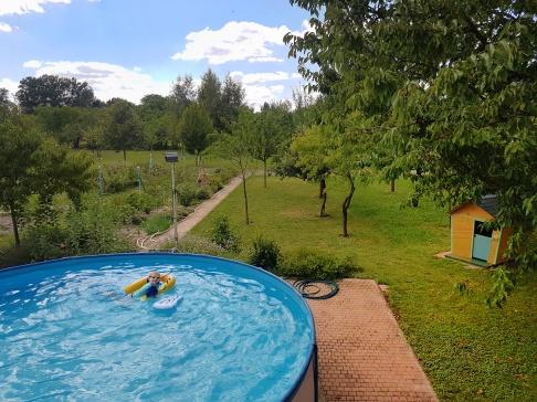 Une des nombreuses piscines du séjour