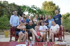 Retrouvailles avec la famille