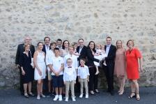 La famille au complet (moins une personne)