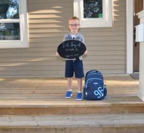 Première journée d'école
