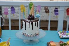 Gâteau glace renversée