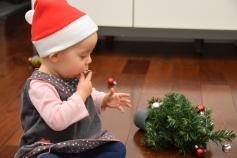 Hmm c'est bon les boules de Noël