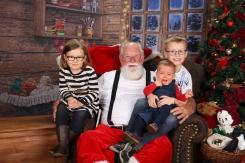 Visite avec le Père Noël